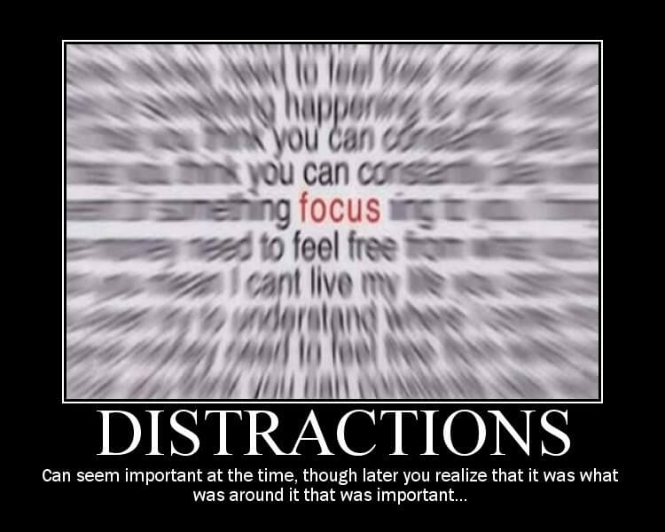 conquer distraction