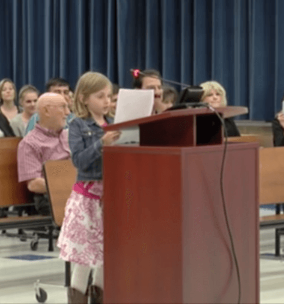 Fourth Grader Sydney Smoot Destroys Proponents Of Standardized Testing