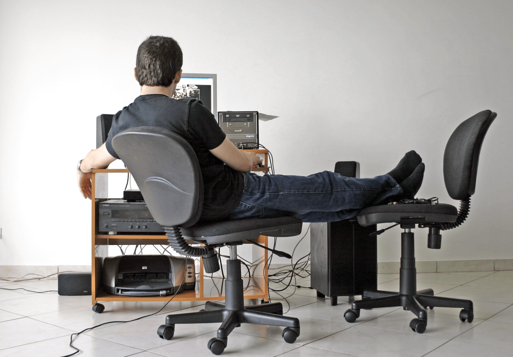 So Long, Standing Desk: 8 Benefits Of Sitting